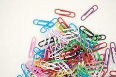 Paper-clip verticale Immagini Stock Libere da Diritti