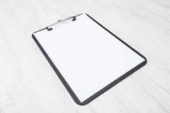 Paper on clipboard Royalty Free Stock Images