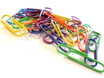 Free Paper Clips Royalty Free Stock Photos - 11171908