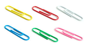 Paper-clips Royalty Free Stock Photos