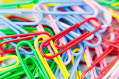Free Paper Clips Stock Photography - 13558072