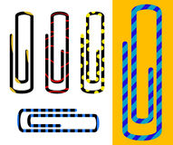 Paper clips Royalty Free Stock Image