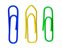Paper clips Royalty Free Stock Photo