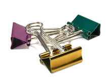 Paper clips Stock Images