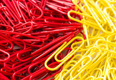 Paper clips Stock Photography