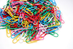 Paper clips. Royalty Free Stock Image