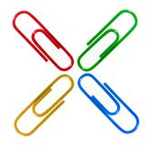 Paper clips Stock Image