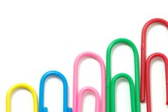 Paper-clips Royalty Free Stock Image