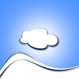 Paper Cloud Royalty Free Stock Photo