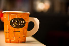 Paper coffee cup Royalty Free Stock Photo