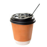 Paper coffee cup Royalty Free Stock Photography