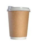 Paper coffee cup Stock Image