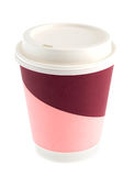 Paper coffee cup Royalty Free Stock Images
