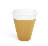 Paper Coffee Cup Stock Photography