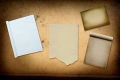Paper collection Stock Photography