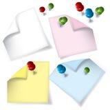 Paper_colors Fotografia de Stock Royalty Free