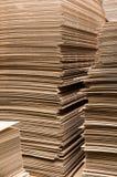 Paper columns Stock Photo