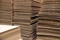Paper columns Royalty Free Stock Image