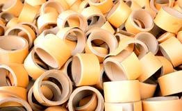 Paper core Stock Image