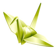Paper crane,origami Royalty Free Stock Photos