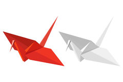 Paper cranes Stock Image