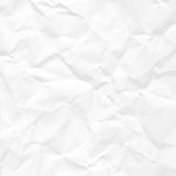 Paper crumpled seamless texture Stock Photography