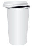 Paper cup for coffee Royalty Free Stock Images
