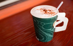 Paper cup of coffee Royalty Free Stock Images