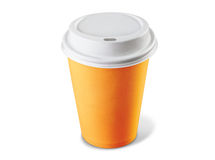 Paper cup of coffee Stock Image