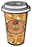 Paper cup of coffee Royalty Free Stock Photos
