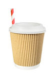 Paper cup of coffee to go Royalty Free Stock Photography