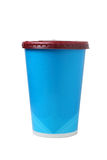 Paper cup isolated Stock Photography