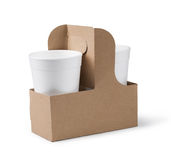 Paper cup Royalty Free Stock Photo