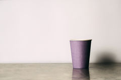 Paper cup Royalty Free Stock Images