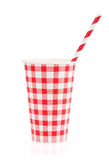 Paper cup with takeaway drink Royalty Free Stock Photos