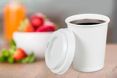 Paper cup Royalty Free Stock Photos