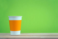 Paper cup takeaway Royalty Free Stock Photography