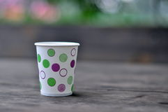 A paper cup Royalty Free Stock Photos