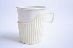 Paper Cup Stock Photography