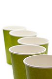 Paper cups Stock Photography
