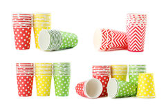 Paper cups Royalty Free Stock Photography