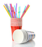 Paper cups Royalty Free Stock Images
