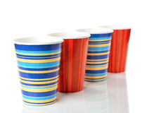 Paper cups Royalty Free Stock Photo