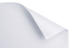 Paper curl Stock Photography