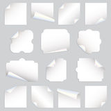 Paper curls Royalty Free Stock Photo