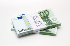Paper currency of hundred euros Royalty Free Stock Photography