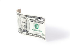Paper currency wave Royalty Free Stock Image