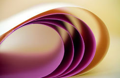 Paper Curve abstract Stock Photography