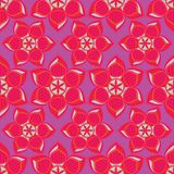 Abstract floral vector illustration. royalty free illustration