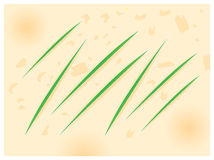 Paper cut background Royalty Free Stock Images